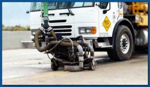 Line Removal: waterblasing, sandblasting, grinding or grooving
